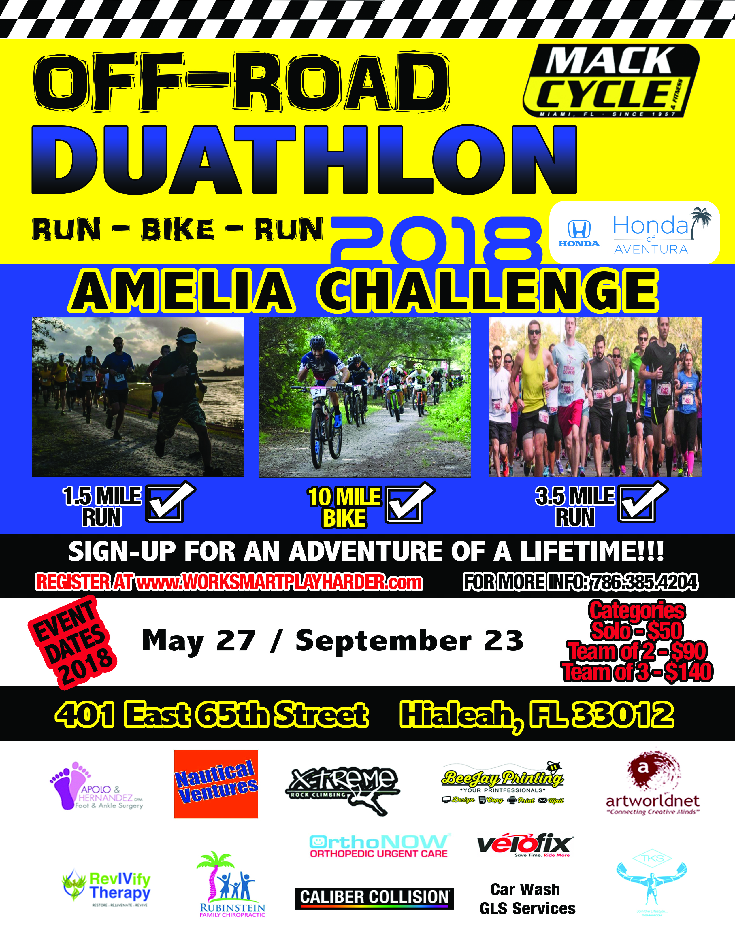 Off Road Duathlon 2018